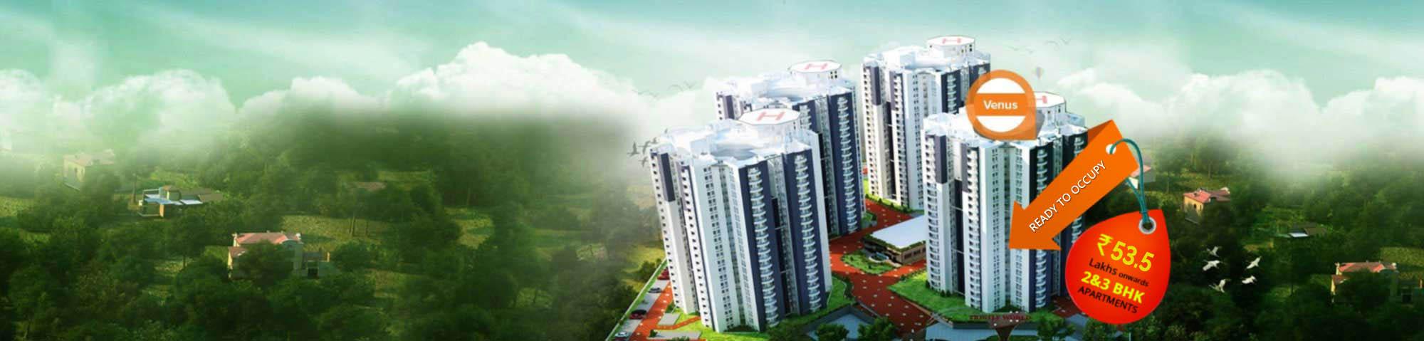 3BHK Apartments in Kochi