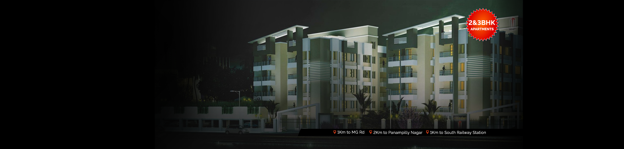 3BHK Apartments in Kochi